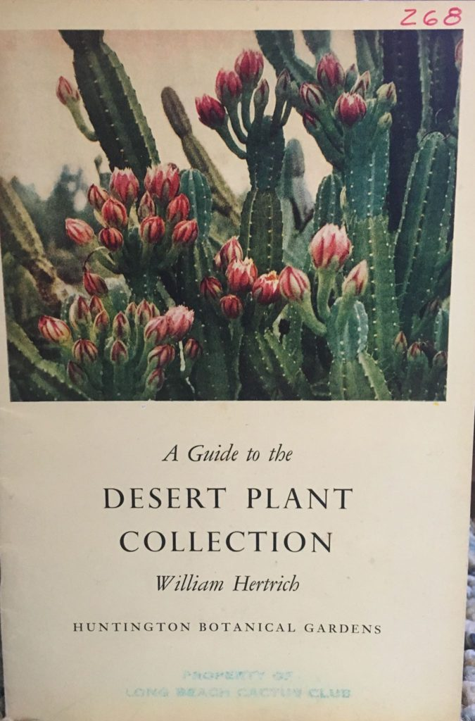 Guide to Desert Plant Collection